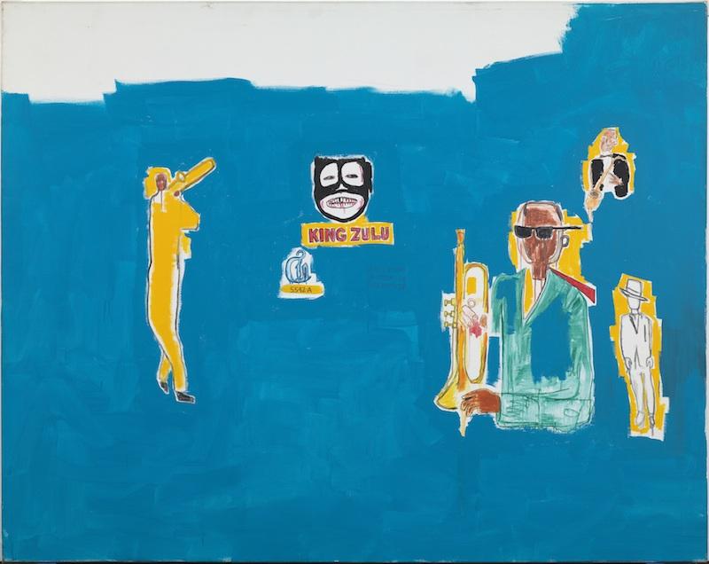 4. Jean Michel-Basquiat, King Zulu, 1986_©The Estate of Jean-Michel Basquiat. Photo-Gasull Fotografia