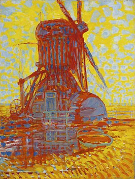 Piet Mondrian, Mill: Mill by Sunlight (1908) Gemeentemuseum The Hague