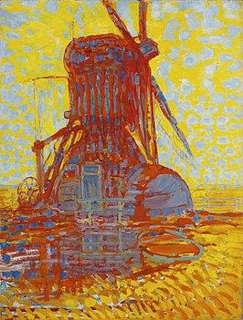 Piet Mondrian, Mill: Mill by Sunlight (1908) Gemeentemuseum The Hague